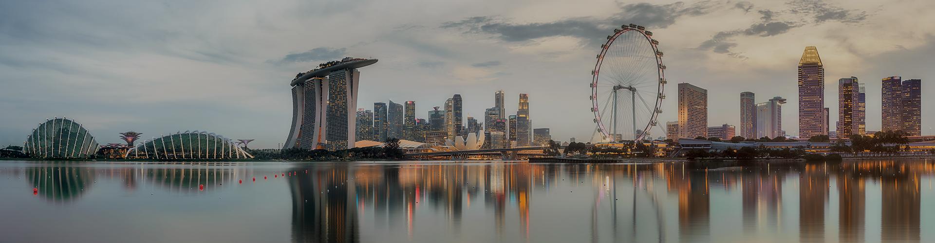 Landmark photograph of Singapore
