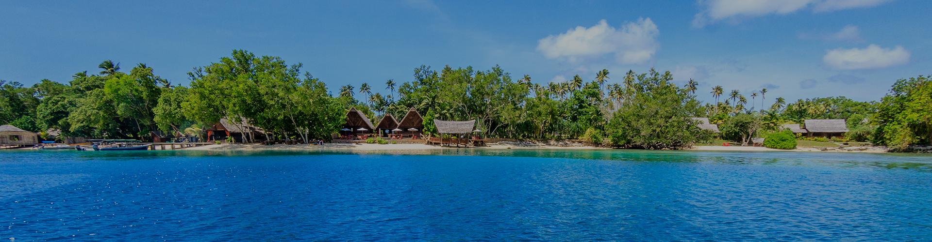 Landmark photograph of Vanuatu