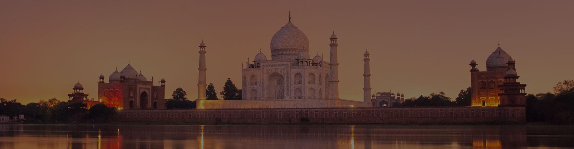 Landmark photograph of India