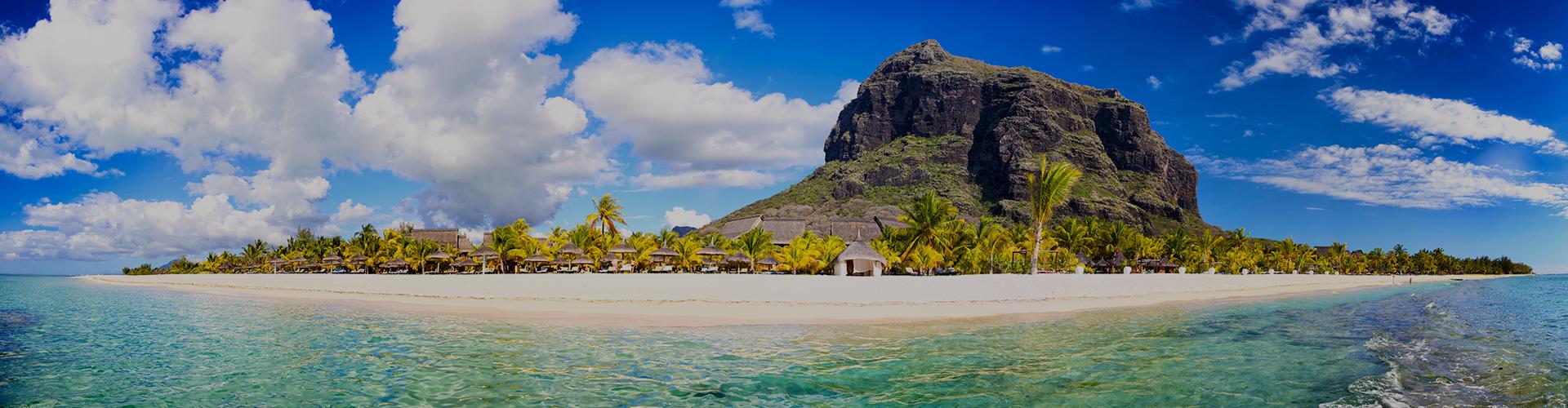 Landmark photograph of Mauritius