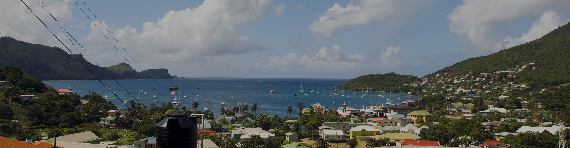 Landmark photograph of St. Vincent & Grenadines