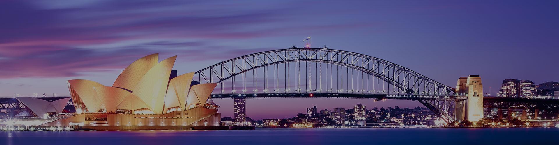 Landmark photograph of Australia