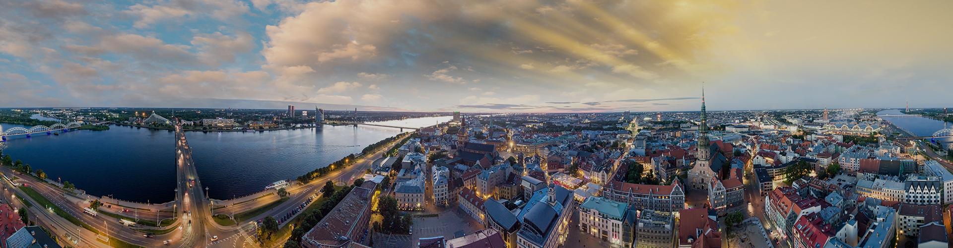Landmark photograph of Latvia