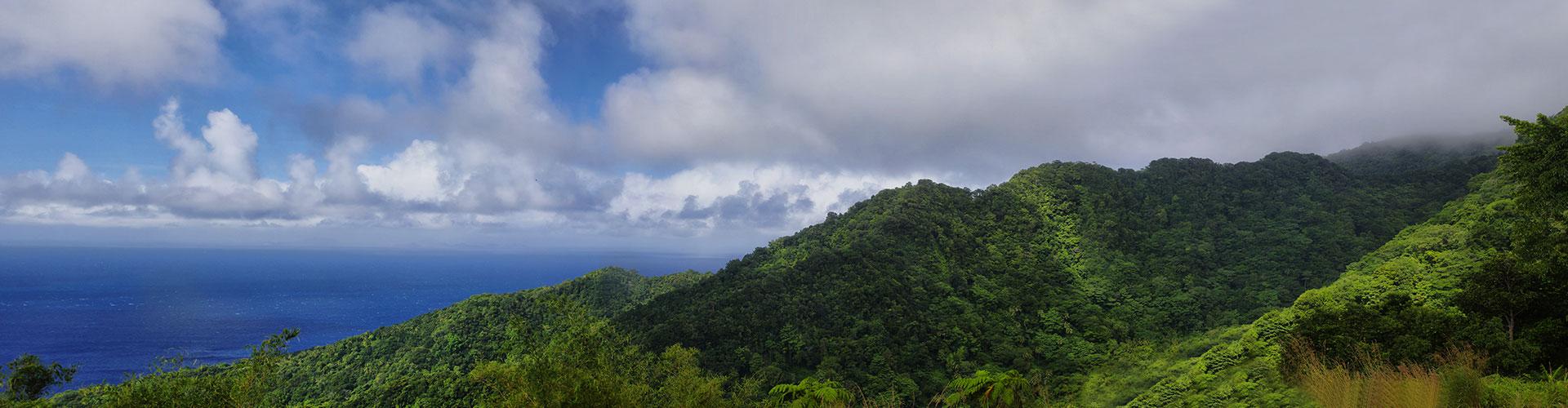 Landmark photograph of Dominica
