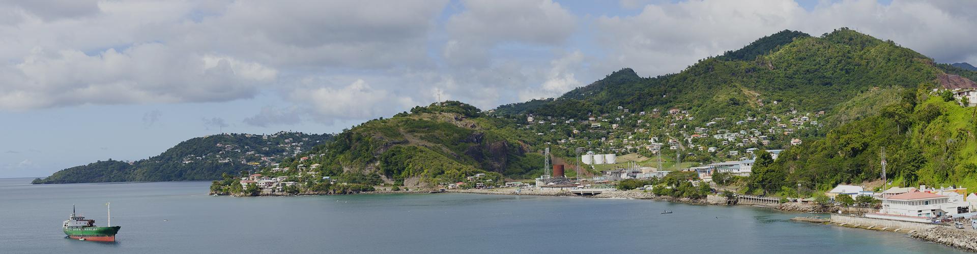 Landmark photograph of Grenada