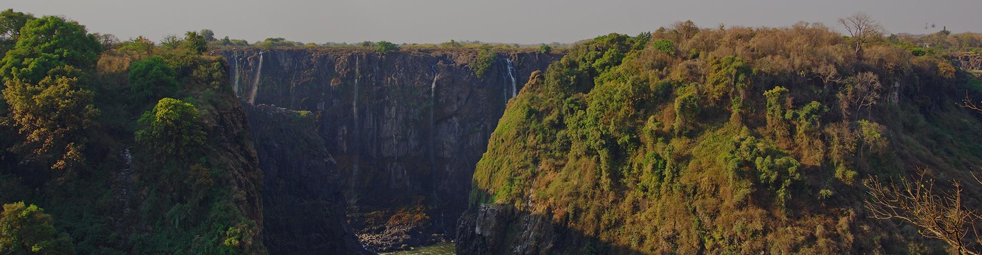 Landmark photograph of Zimbabwe