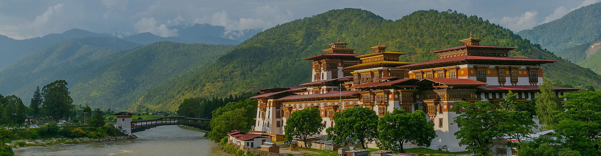 Landmark photograph of Bhutan