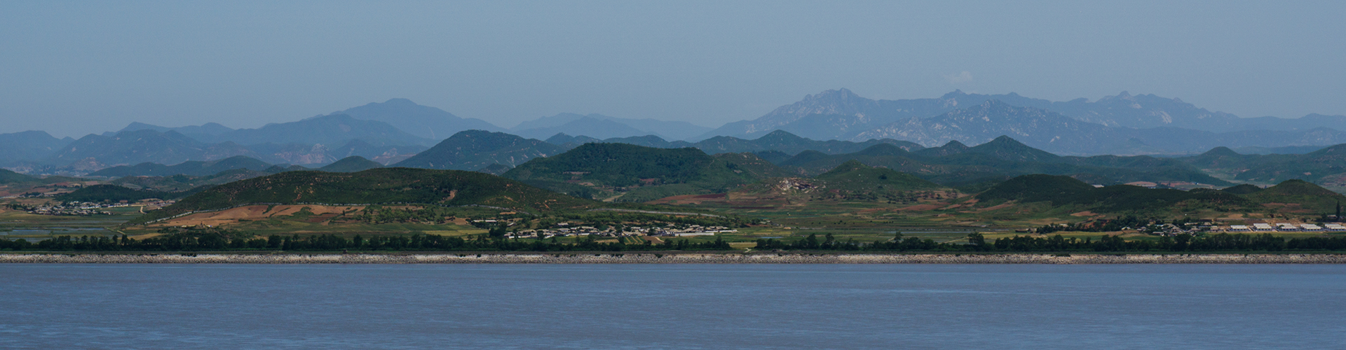 Landmark photograph of North Korea