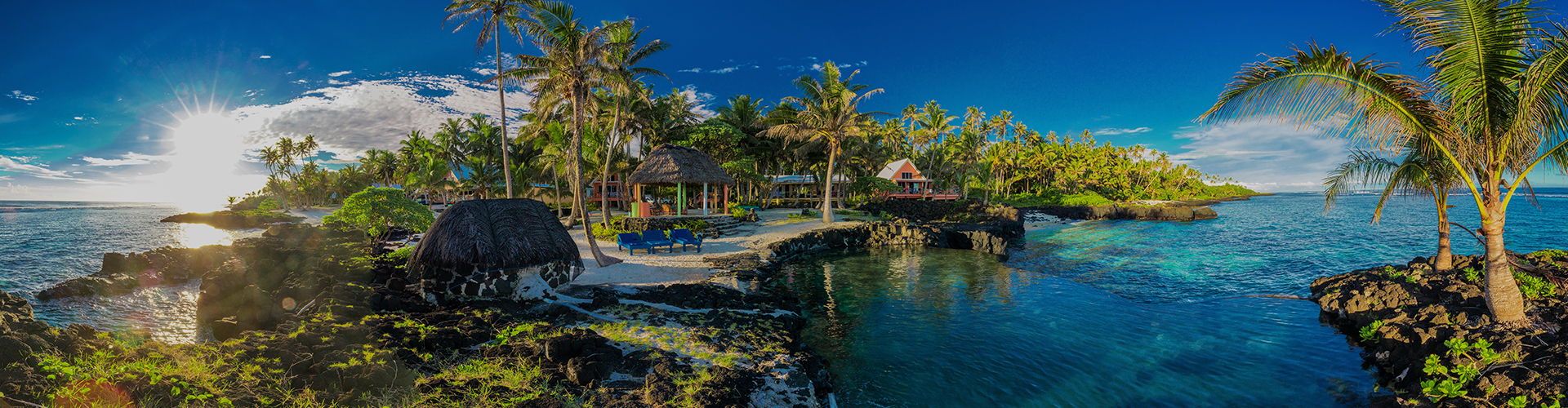 Landmark photograph of Samoa