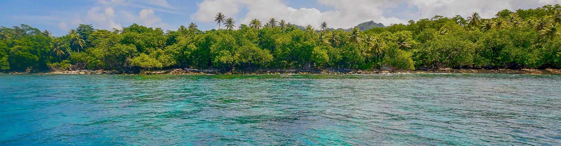 Landmark photograph of Micronesia