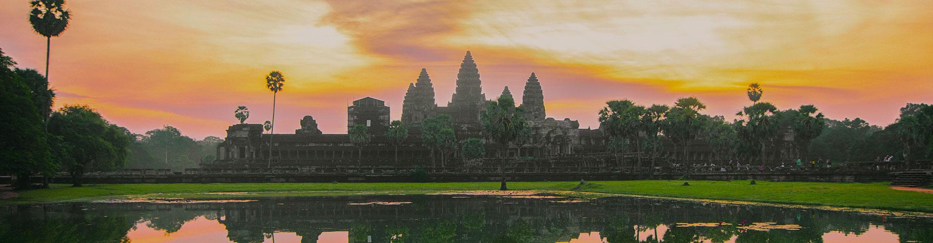 Landmark photograph of Cambodia