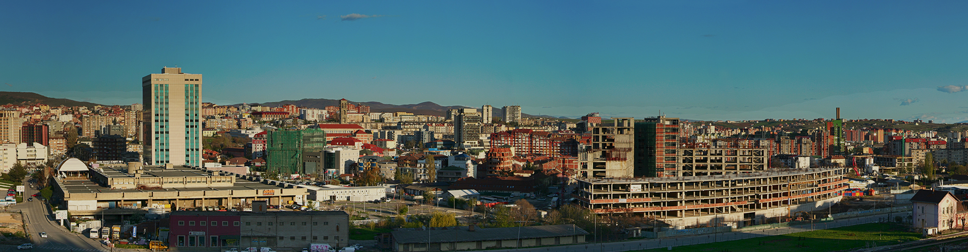 Landmark photograph of Kosovo