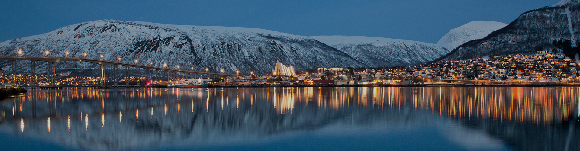Landmark photograph of Norway