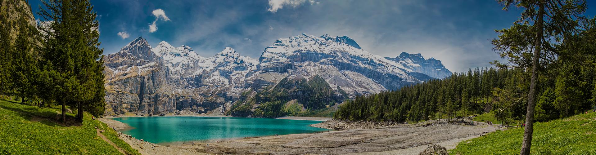 Landmark photograph of Switzerland