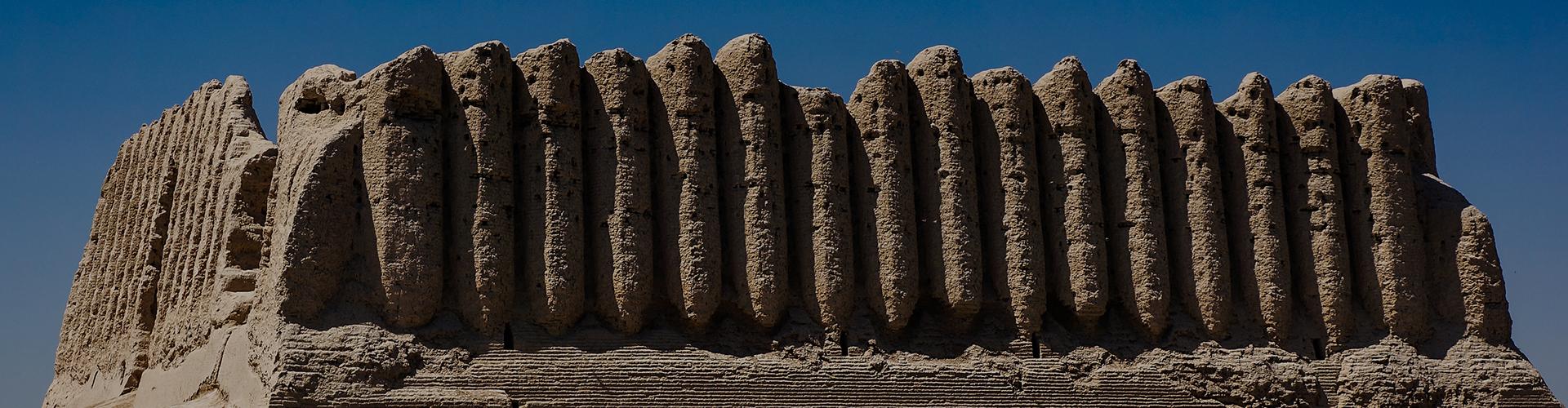 Landmark photograph of Turkmenistan